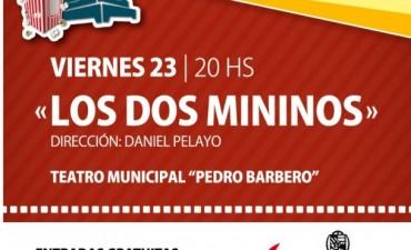 """La película """"Los Dos Mininos"""" se proyectará hoy en el Teatro Municipal """"Pedro Barbero"""""""