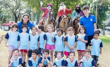 Los Reyes Magos visitaron Campana Boat Club