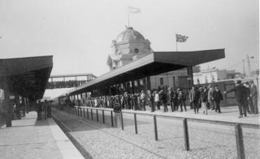 Se conmemora el 140° aniversario de la llegada del ferrocarril a Campana