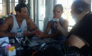 Celesta Muriega y Joel Ledesma en Buenos Tiempos desde Mar del Plata