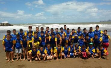 Infantiles del Club Puerto Nuevo participan del Mundialito en Mar del Plata