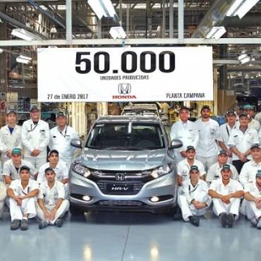 HONDA MOTOR DE ARGENTINA ALCANZA LAS 50.000 UNIDADES DE AUTOMÓVILES PRODUCIDAS EN ARGENTINA