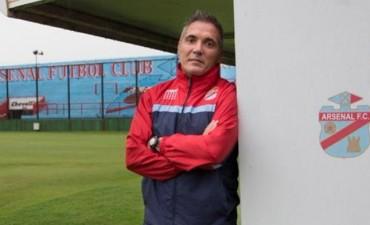Sergio Rondina: nuestro objetivo es que Arsenal permaneza en primera divisiòn