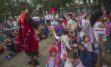 Los Reyes Magos visitaron la Colonia Municipal Integradora