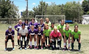 Se realizó un torneo relámpago de fútbol femenino