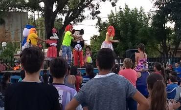 """Familias de La Josefa disfrutaron del primer """"Cerca tuyo"""" del año"""