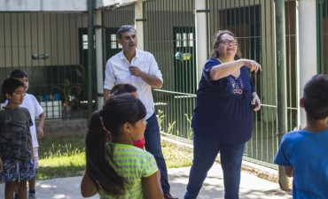 Concejales de Cambiemos visitaron las Escuelas Abiertas en Verano