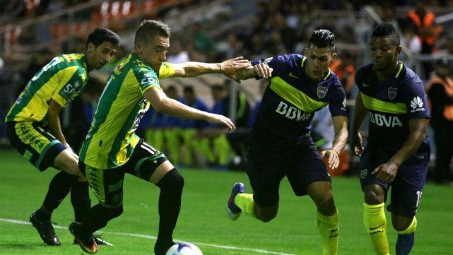 Esta noche Boca Juniors enfrenta a Aldosivi