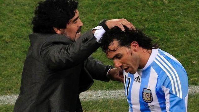 Maradona: se refirió a la vuelta de Tevez a Boca Juniors