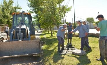 ABSA, AYSA y Municipio trabajan articuladamente en la reparación y mantenimiento de los cloacales de Barrio Lubo