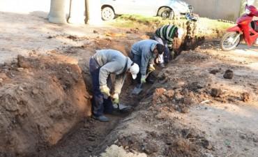 En el barrio Malvinas III, el Municipio realizó trabajos de limpieza y mantenimiento