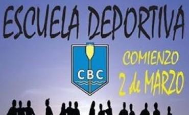 """Arranca """"La Escuela de Iniciación Deportiva"""" de Campana Boat Club"""