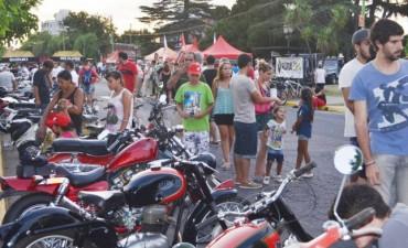 Cientos de familias disfrutaron del Encuentro de Motos Clásicas y Antiguas