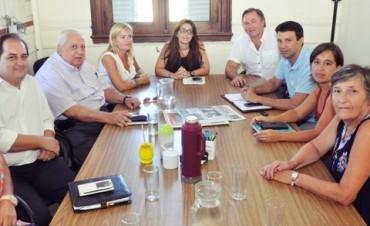 Importante reunión de trabajo entre concejales de Zárate y Campana