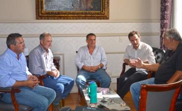 El Intendente se reunió con autoridades del Campana Boat Club