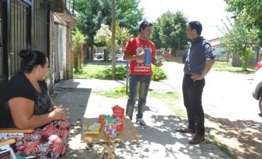 Vecinos de Don Francisco agradecieron al Intendente la pavimentación de las calles