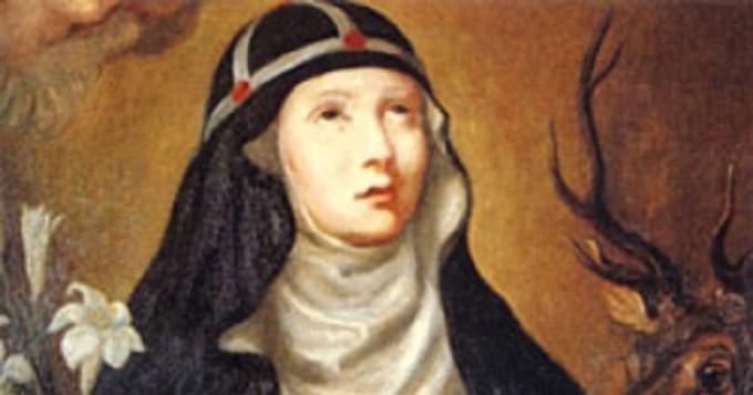 La iglesia recuerda hoy a  santa Brígida de Irlanda