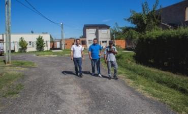 Villanueva: siguen las mejoras de las calles con RAP