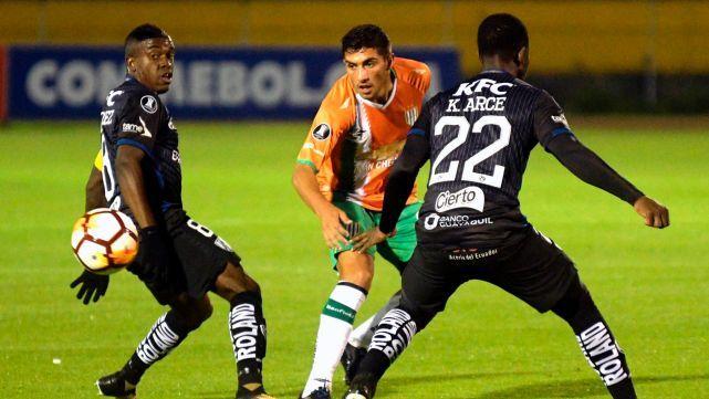 Banfield empató 1 a 1 con Independiente del Valle y clasificó a la siguiente fase de la Copa