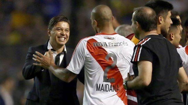 Marcelo Gallardo elogió a Maidana y confirmó a Armani entre los concentrados