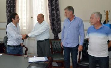 El Intendente presentó a Osvaldo Alday como coordinador de Defensa Civil
