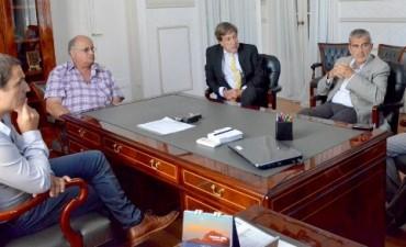 Abella recibió a autoridades del Colegio de Abogados Zárate-Campana