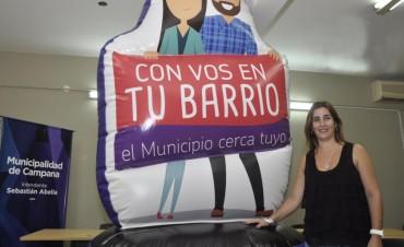 """Mañana en San Jacinto arranca el programa """"Con vos en tu barrio"""""""