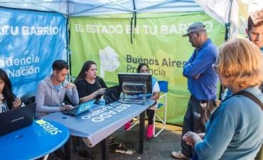 El Estado en tu barrio continúa hasta el viernes en la plaza Eduardo Costa
