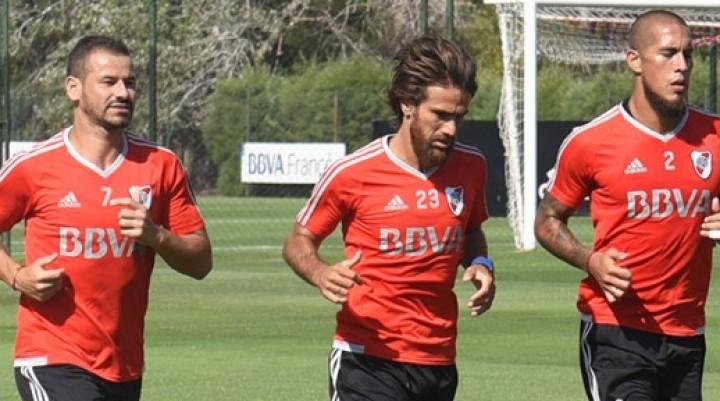 River Plate se entrenó en River Camp