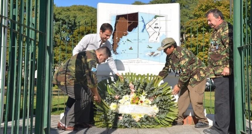 Campana conmemorará el 36° aniversario de la guerra de Malvinas