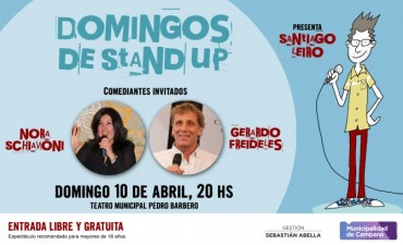 "Regresa ""Domingo de stand up"" al Teatro Pedro Barbero"