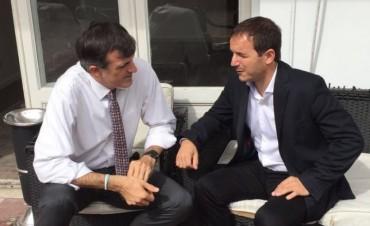 El Intendente mantuvo una reunión clave con el ministro de Educación de la Nación