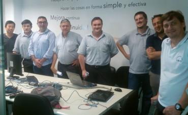 Personal del CIMoPU se capacitó sobre programación de plataformas de video vigilancia