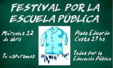 El Frente de Unidad Docente convoca a un Festival por la Escuela Pùblica