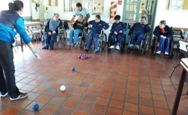 El Municipio lanzó una nueva propuesta deportiva para jóvenes con discapacidad