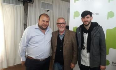 El director de Juventud acompañó el anuncio de la ampliación del boleto estudiantil gratuito a universidades