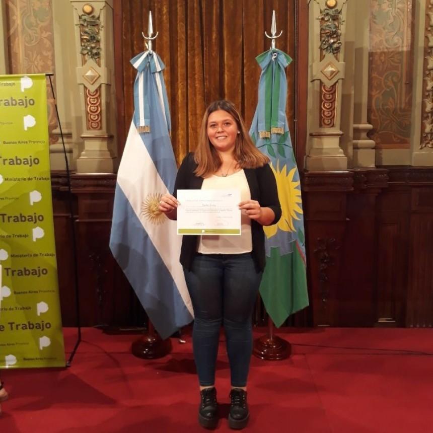 Irina Gallo fue elegida