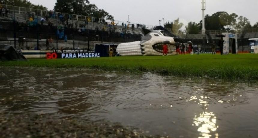 Boca Juniors no pudo jugar en La Plata por las malas condiciones climàticas