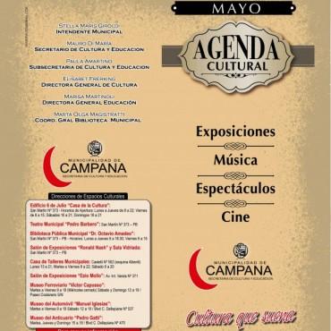 """Agenda Cultural de Mayo: continúan realizándose las propuestas en el marco del """"Viviendo el 130° Aniversario"""""""