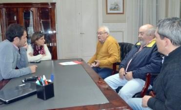 Reunión con el Intendente Municipal