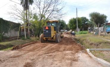 El Municipio trabaja en el barrio El Destino