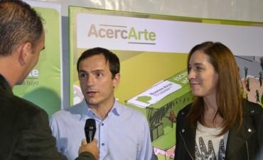 La gobernadora Vidal participó del cierre de AcercArte en Campana