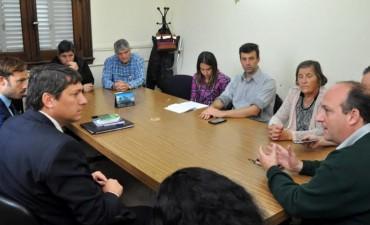 El Consejo Consultivo de Seguridad se reunió con fiscales del distrito