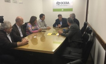 El Intendente se reunió con el presidente de OCEBA por el servicio eléctrico en la isla