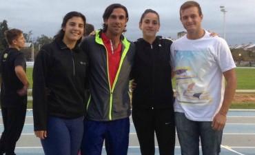 Los atletas Agostina Ríos, Paula Díaz y Eric Muga participaron del Torneo Argentino de Mayores y Juveniles