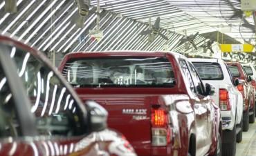 Toyota Argentina aumentará un 30% la producción de su planta en Zárate