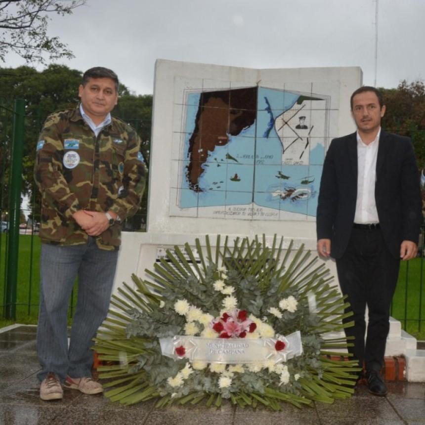 A 36 años del hundimiento del Crucero General Belgrano, Abella homenajeó a los caídos
