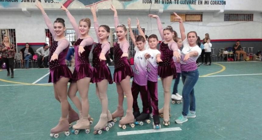 La Escuela Municipal de Patín participó de una importante competencia