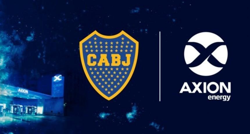 AXION energy nuevo sponsor oficial del Club Atlético Boca Juniors