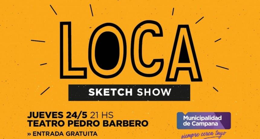 """""""Loca"""" se presentará este jueves en el Teatro Pedro Barbero"""